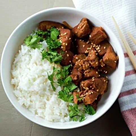 Slow Cooker Teriyaki Chicken Recipe serves 2