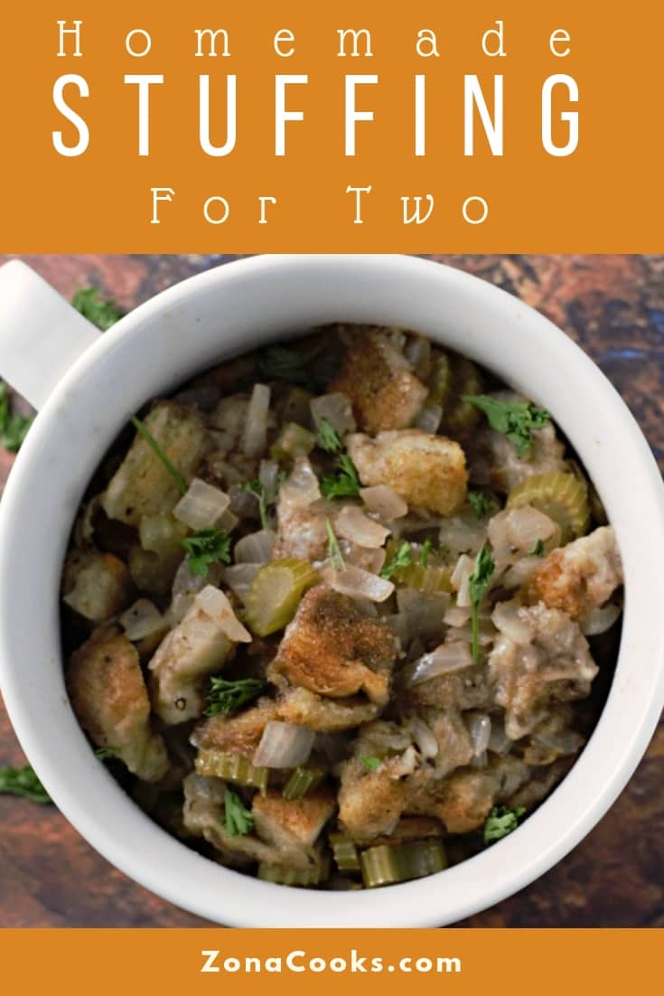 Homemade Stuffing Recipe for Two