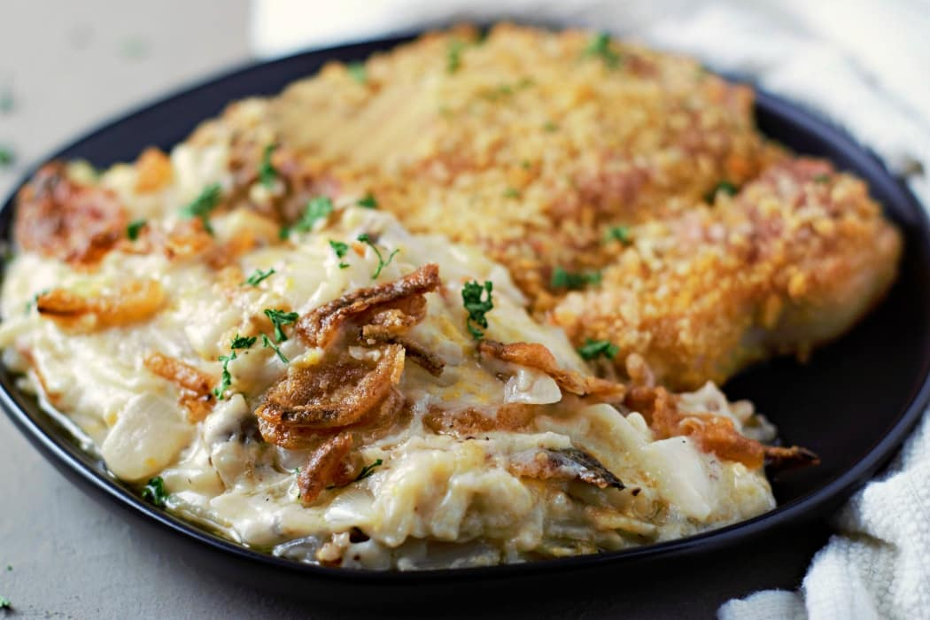 Small Batch Cheesy Hashbrown Casserole Recipe