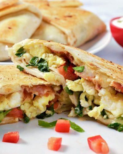 Breakfast Crunchwraps