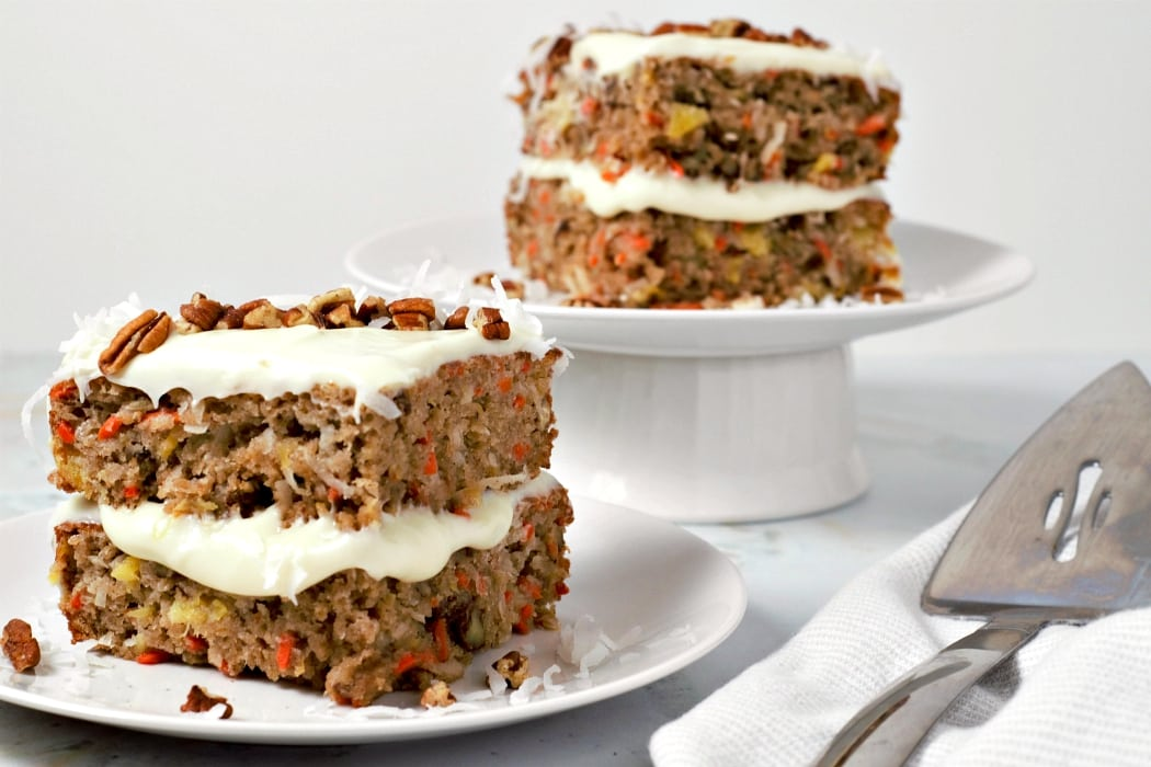 Easy Carrot Cake from Scratch