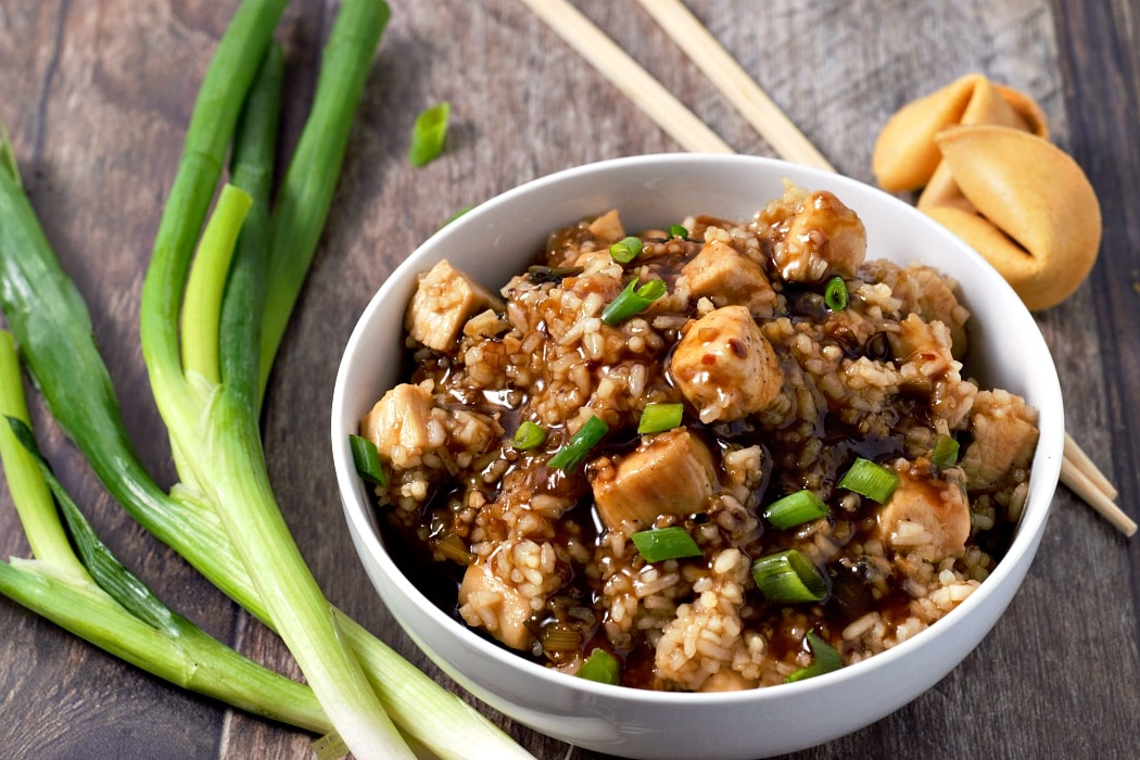 One Pan General Tso's Chicken