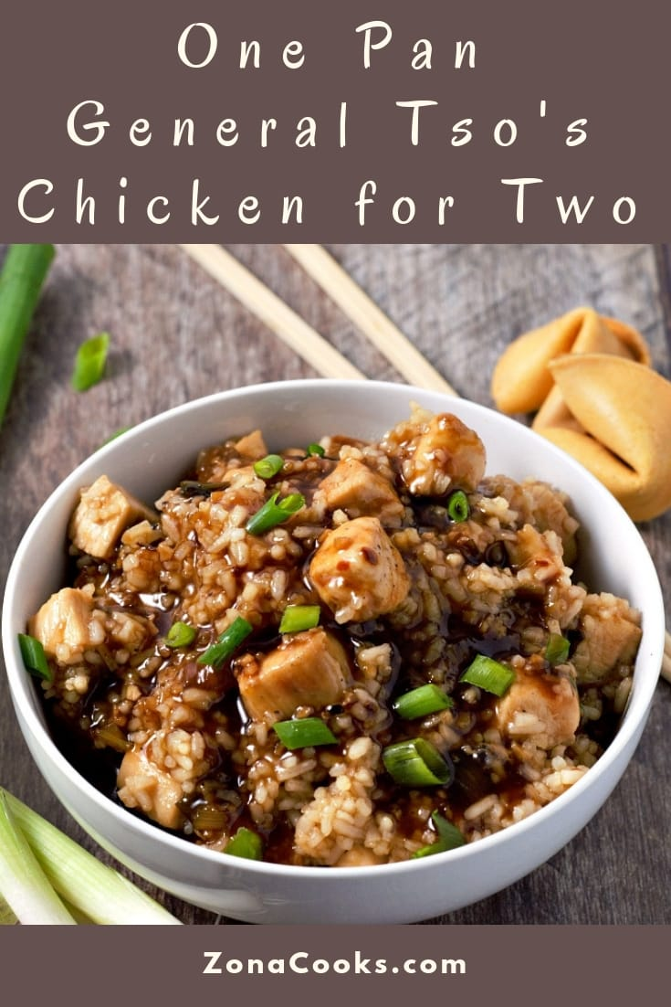 One Pan General Tso's Chicken Recipe for Two