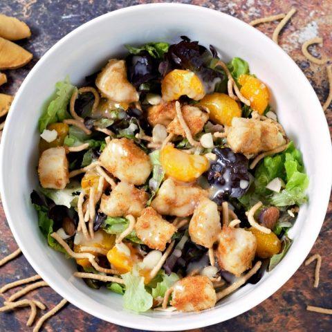 Oriental Chicken Salad Recipe serves 2