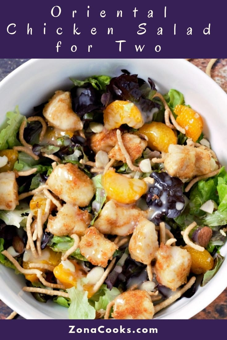 Oriental Chicken Salad Recipe for Two