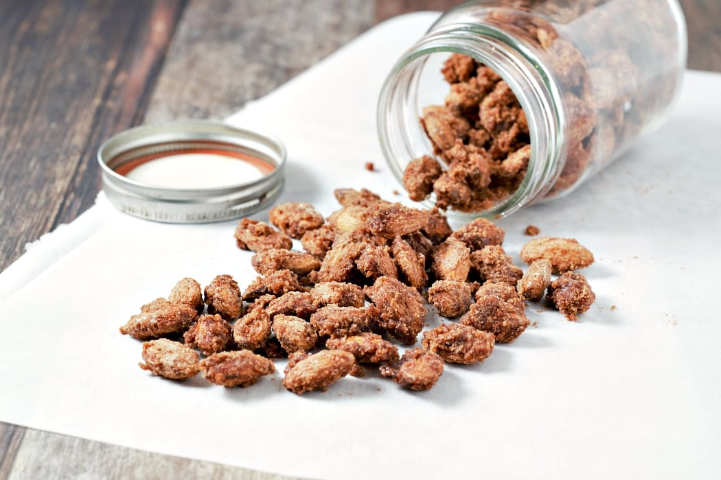 Small Batch Candied Cinnamon Almonds