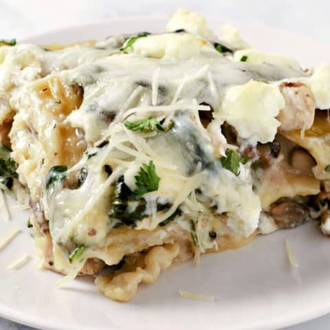 Chicken Spinach Lasagna