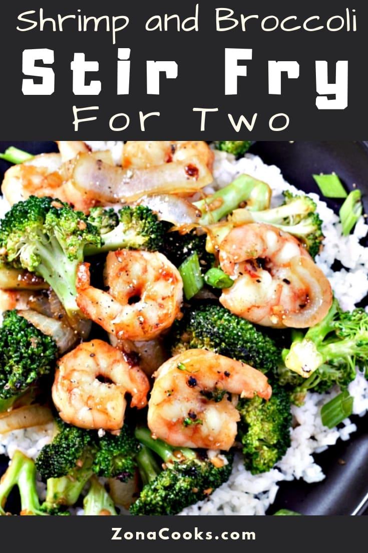 Shrimp and Broccoli Stir Fry Recipe for Two