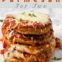 Easy Eggplant Parmesan Recipe for Two