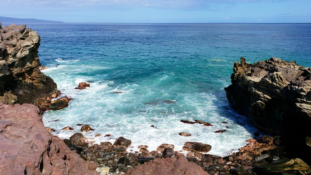 gorgeous ocean view along the Kapalua Coastal Trail