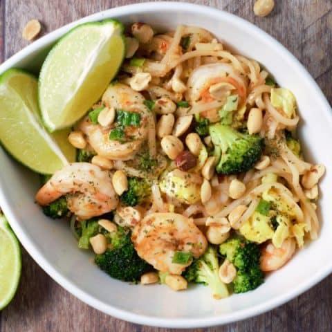Shrimp Pad Thai - serves 2