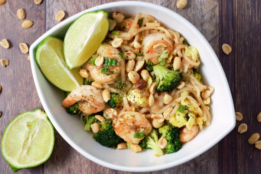 Shrimp Pad Thai - serves 2