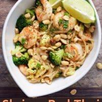 Shrimp Pad Thai Recipe for Two