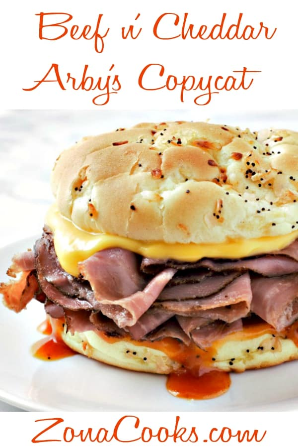 Arby's Beef and Cheddar Copycat Recipe