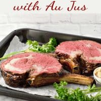 Best Standing Prime Rib Roast with Au Jus