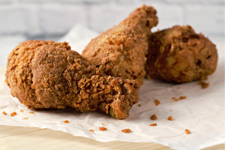 3 pieces of Crispy Fried Chicken