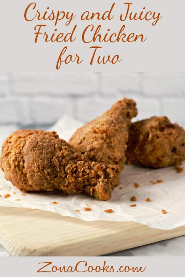 Crispy Fried Chicken for two