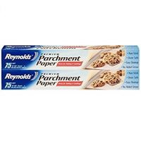 Reynolds Kitchens Parchment Paper (Premium, Non-Stick, 75 Square Foot Roll, 2 Count)