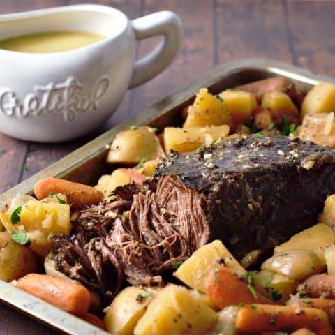 Pot Roast Dinner Recipe and Gravy