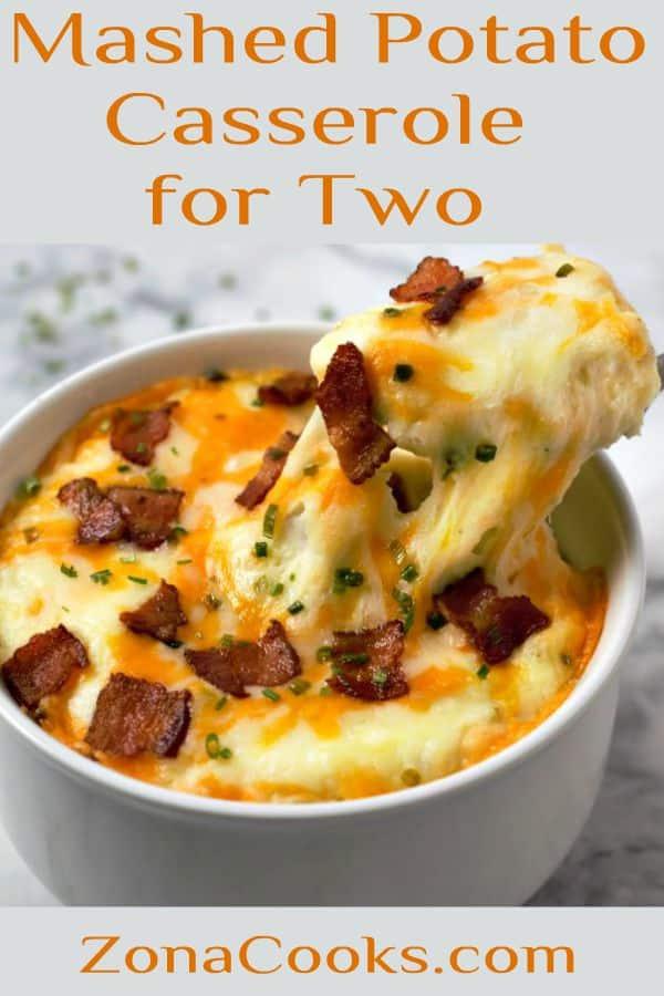 Mashed Potato Casserole Recipe for Two