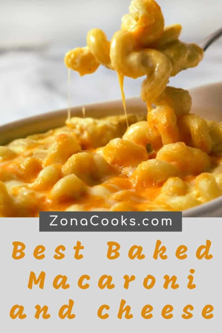 Baked Macaroni and Cheese for two