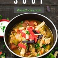Best Chicken Fajita Soup Recipe