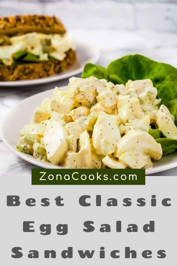 Best Classic Egg Salad Sandwiches