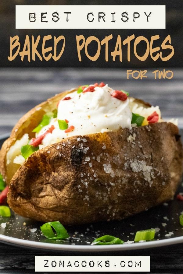 best crispy baked potatoes for two