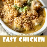 Easy Chicken and Rice Bake Dinner for Two